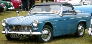 MG Midget MK1 - blue